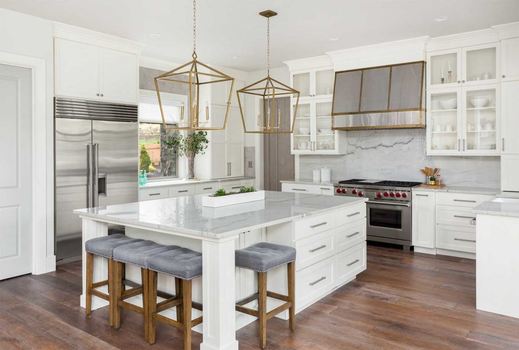 a beautifully staged crofton home for sale